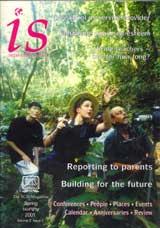 International School Magazine Cover